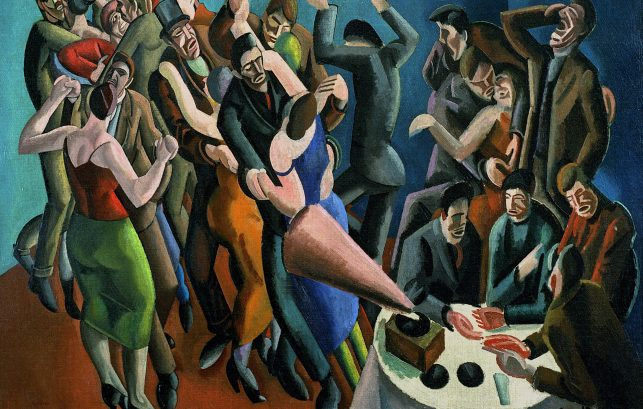 The Dance Club (The Jazz Party) by William Patrick Roberts, 1923.