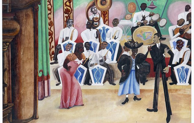 The Band, by Edward Burra