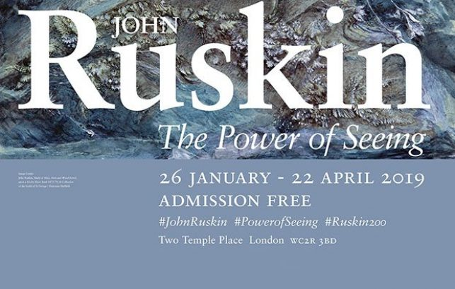 John Ruskin: The Power of Seeing exhibition