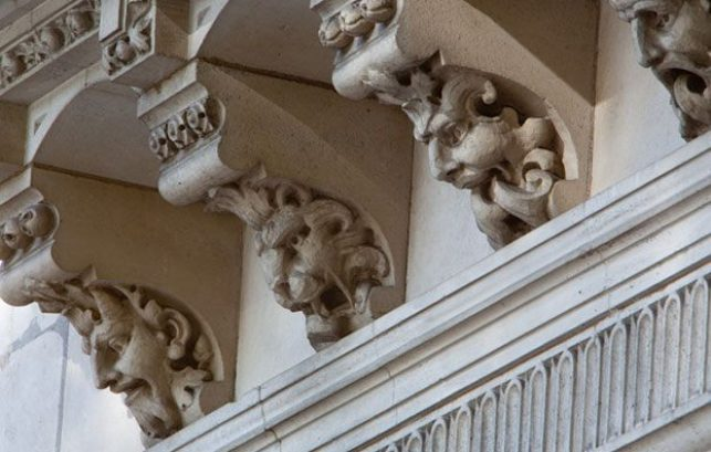 Two Temple Place exterior detail