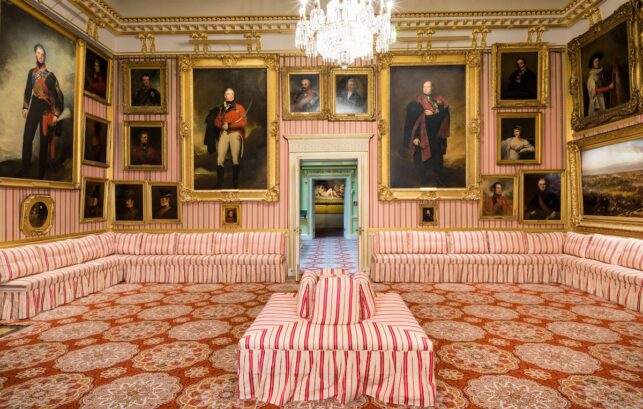 Interior image of Apsley House